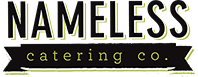 nameless catering logo