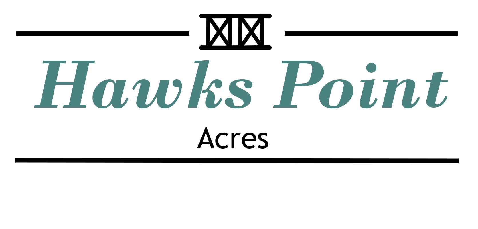 Hawks Point Acres White top