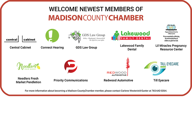 Welcome Newest Chamber Members