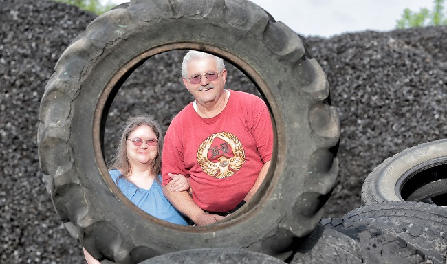 Recycling Tires, Recycling Hope